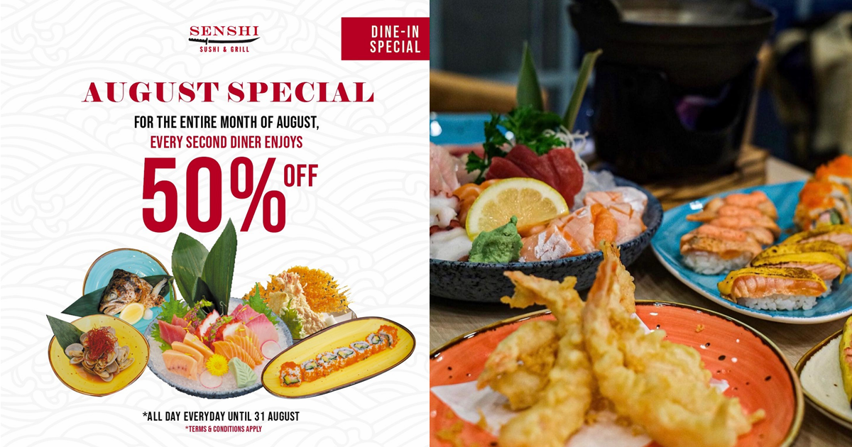 Japanese restaurant in Chinatown offers all-you-can-eat sushi & grill buffet from $19++
