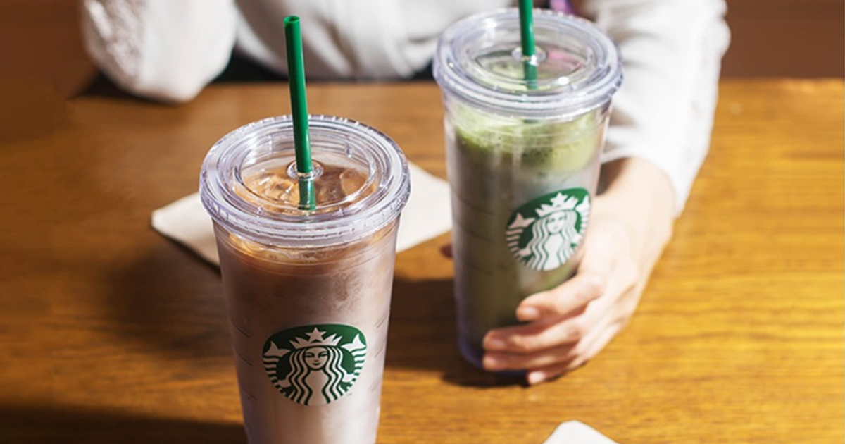 Starbucks: $2 off any handcrafted beverage (min. spend $5) when you pay with your HSBC Credit Card on 27 & 28 Aug 21