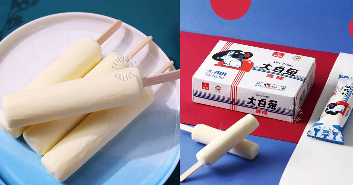 White Rabbit Ice Cream Sticks Now Available At FairPrice