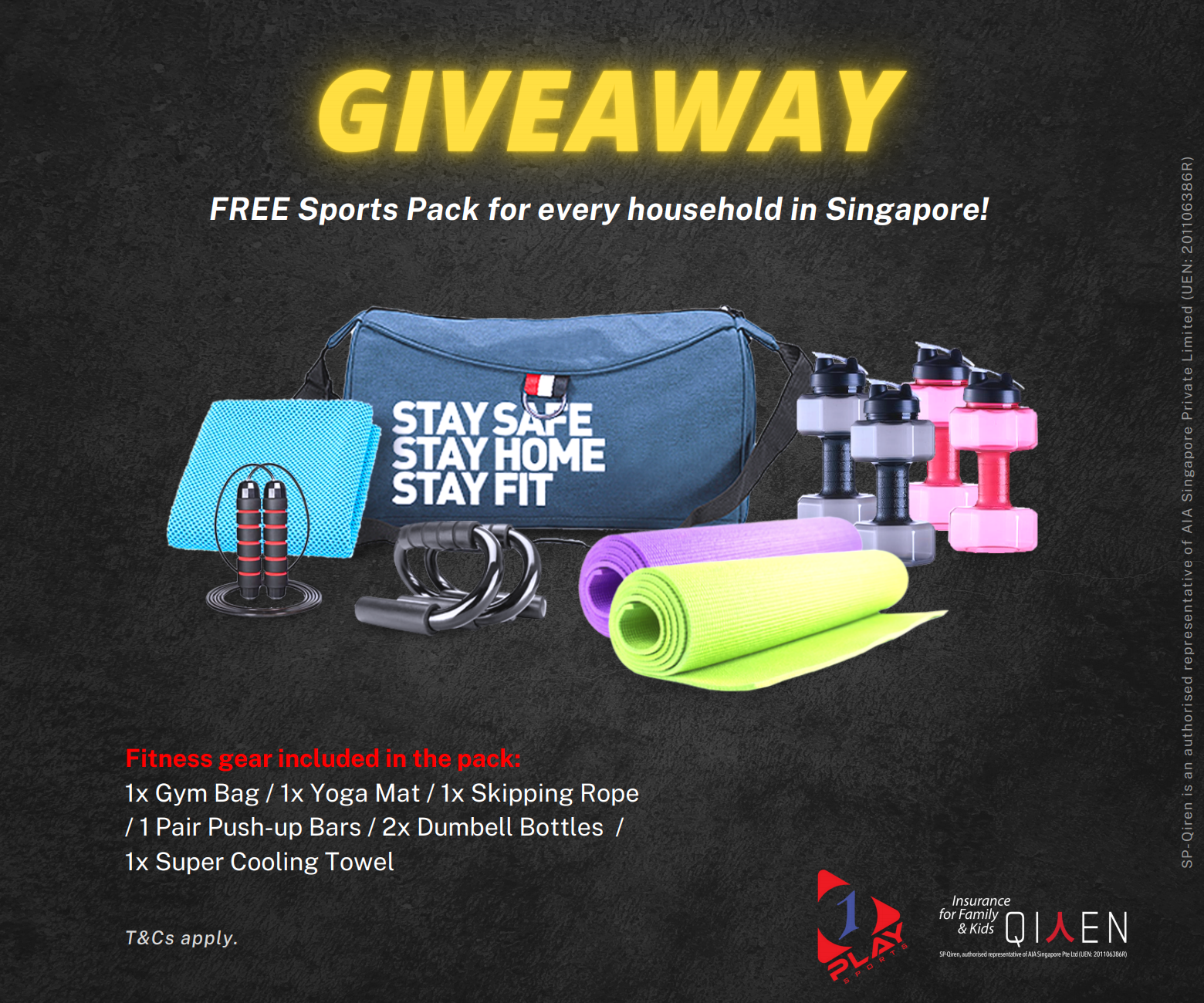 FREE Sports Pack for every household in Singapore!