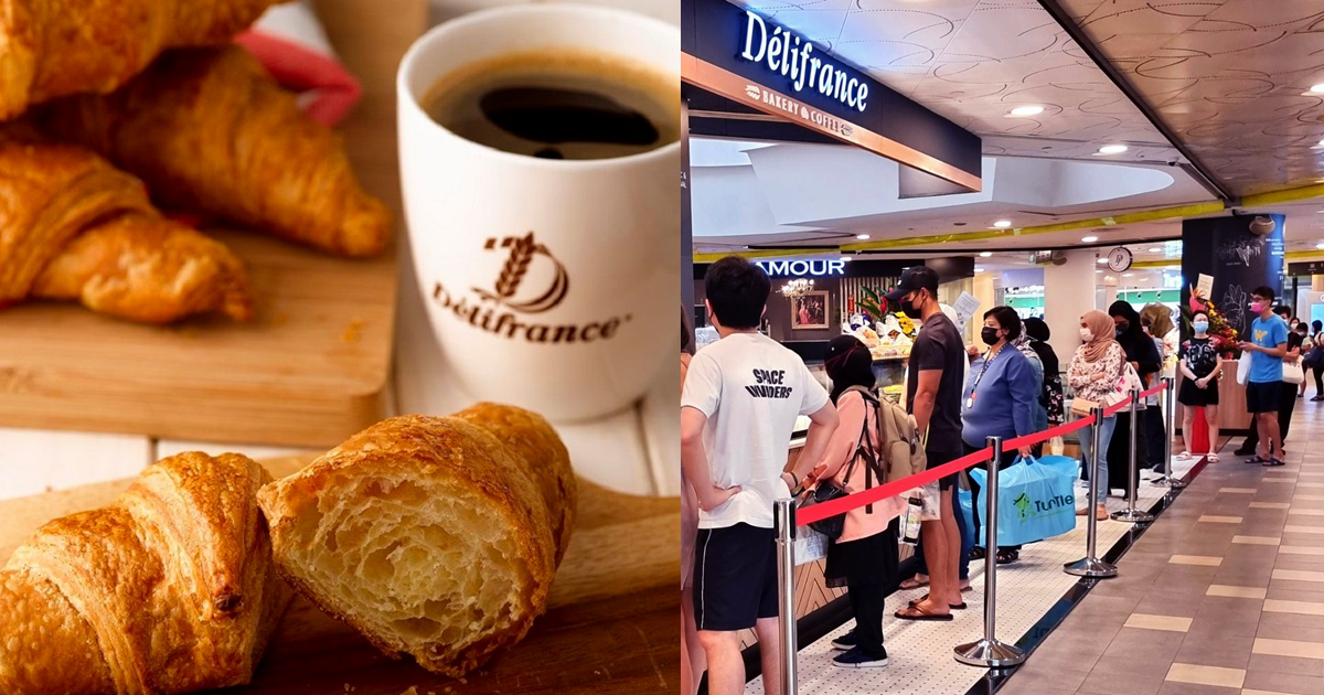 Délifrance celebrates 36th anniversary with $2 croissants (U.P. $3.60) promo from 1 - 7 Sep 21