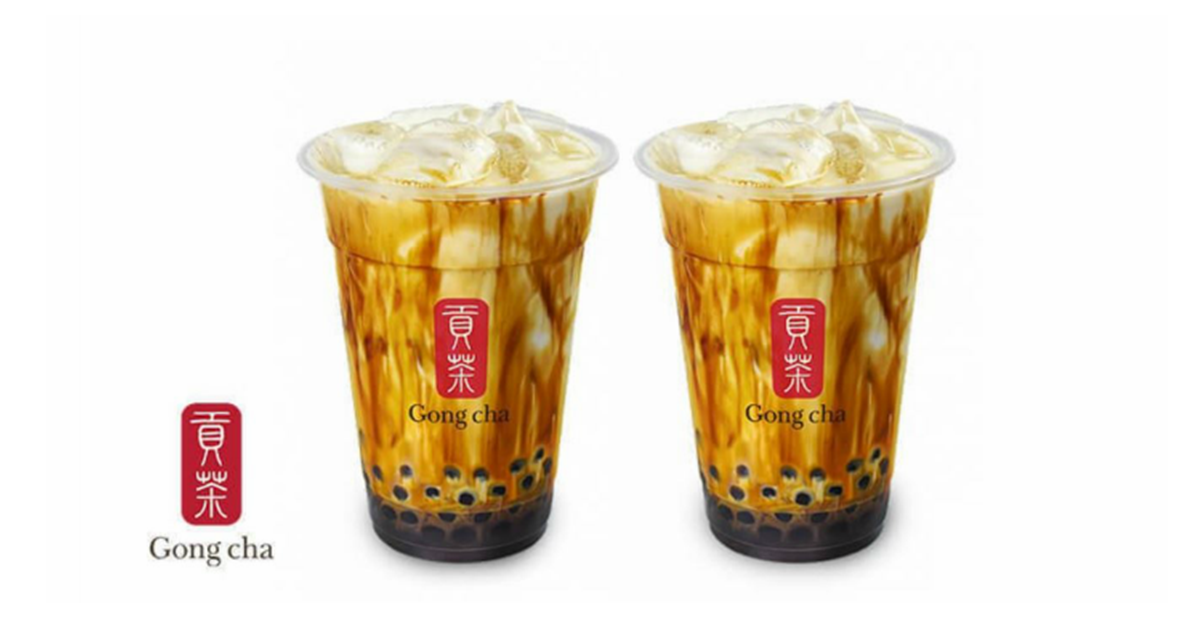 1-FOR-1 Brown Sugar Fresh Milk with Pearls at Gong Cha Takashimaya from now till 12 September 2021