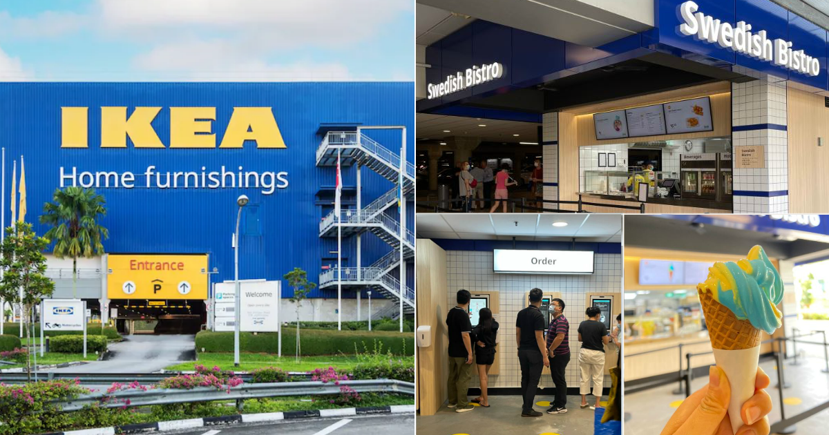 New Swedish Bistro opens at IKEA Tampines; has gourmet hotdog & curly fries with nacho cheese, blueberry ice cream and more