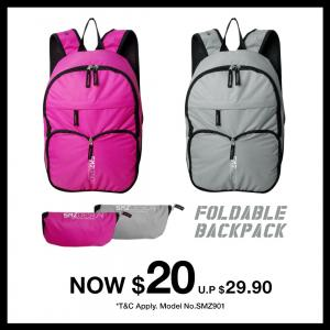 Foldable Backpack $20
